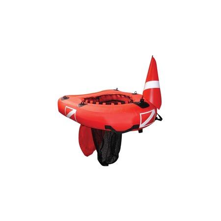 Купить Надувной круг с сеткой для подводной рыбалки Sevylor DN80 E Divenet