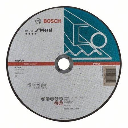 Купить Диск отрезной Bosch Expert for Metal Rapido