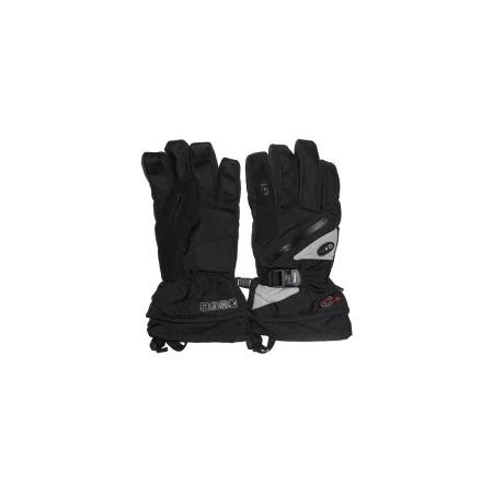 Купить Перчатки горнолыжные GLANCE Fighter (2012-13). Цвет: черный, серый