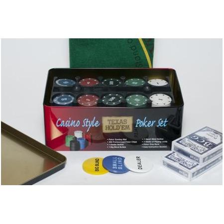 Купить Набор для покера Ningbo Holdem Light с номиналом, 200 фишек