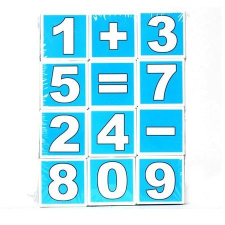 Купить Кубики обучающие Stellar «Математика»