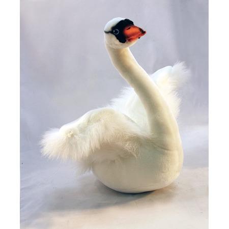 Купить Мягкая игрушка Hansa «Белый лебедь»