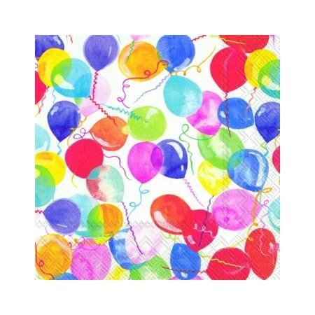 Купить Салфетки бумажные для декупажа IHR «99 шариков»