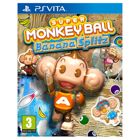 Купить Игра для ps SONY Vita Super Monkey Ball Banana Splitz (rus doc)