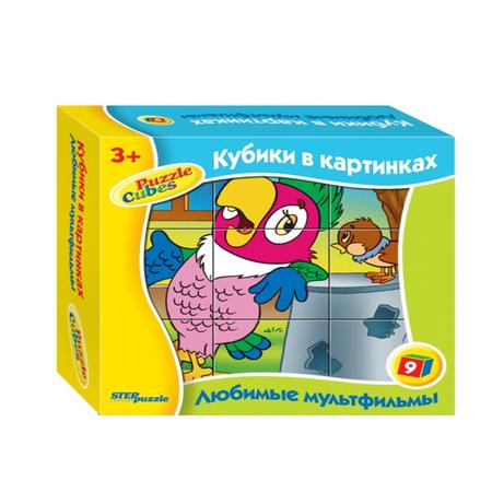 Купить Кубики развивающие Step Puzzle Любимые мультфильмы-3