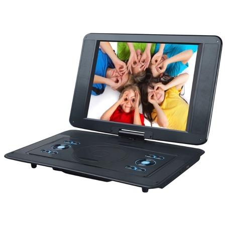 Купить DVD-плеер портативный Rolsen RPD-15D07TBL
