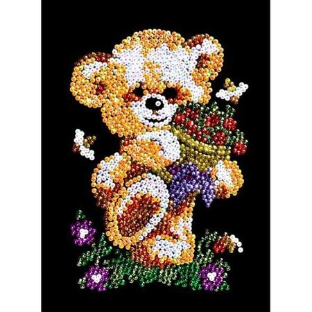 Купить Мозаика из пайеток Shantou Gepai «Мишка»