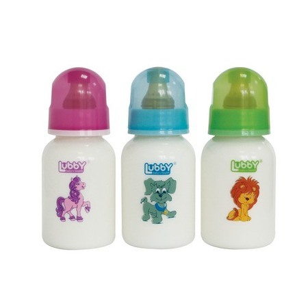 Купить Бутылочка для кормления LUBBY «Веселые животные». В ассортименте
