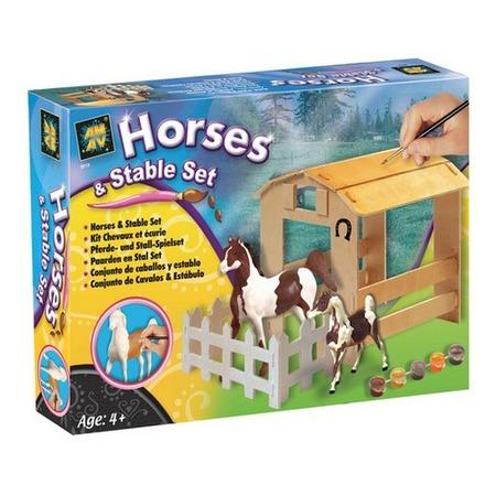 Купить Набор для детского творчества DIAMANT «Домик для лошадки»