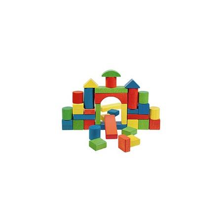 Купить Кубики деревянные крупные, 36 шт.