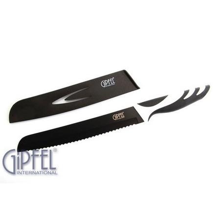 Купить Нож для хлеба в пластиковом чехле Gipfel Rainbow