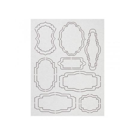 Купить Чипборд Ars Hobby «Фигурные рамки» №1