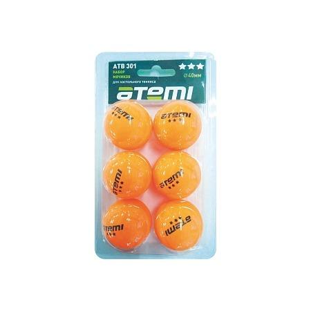 Купить Мячи для настольного тенниса ATEMI ATB301