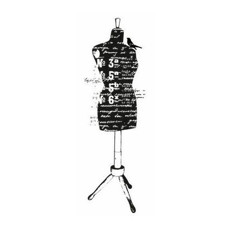 Купить Штамп силиконовый Kaisercraft Dress Form