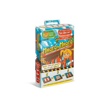 Купить Игра настольная Банда умников «Много-Много»