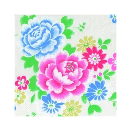 Купить Салфетки бумажные для декупажа IHR «Английские цветы»