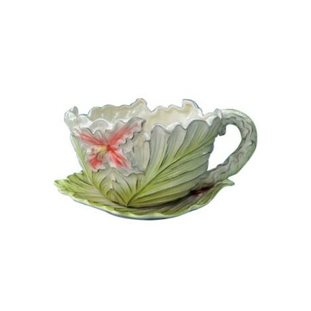 Купить Кашпо декоративное Valenсia «Цветок лилейника»