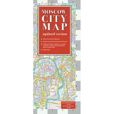 Купить Moscow city map