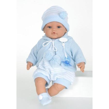 Купить Кукла Munecas Antonio Juan «Берни в голубом»