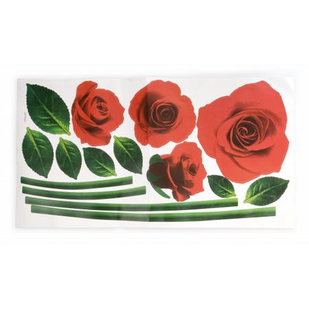 Купить Наклейка на стену «Розы»