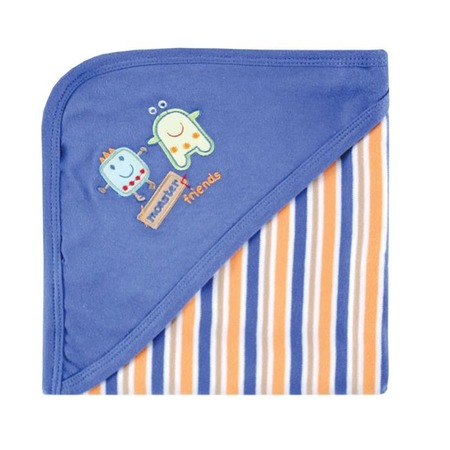 Купить Одеяльце пеленальное с капюшоном Hudson Baby «Маленький монстр»
