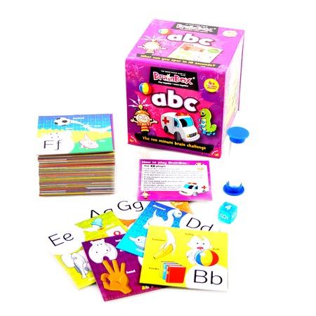 Купить Настольная игра BrainBox Сундучок знаний. ABC