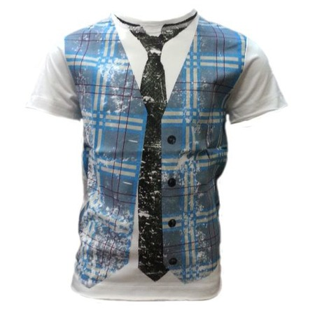 Купить Футболка Warrior Poet Faux Plaid SS T-Shirt