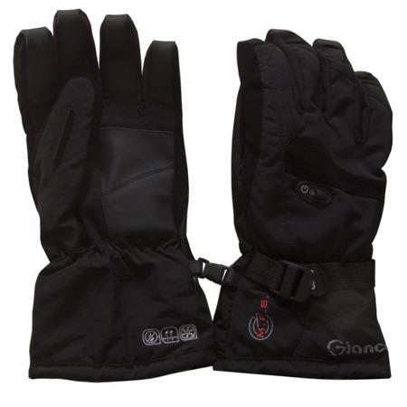 Купить Перчатки горнолыжные GLANCE Freeze (2013-14). Цвет: черный