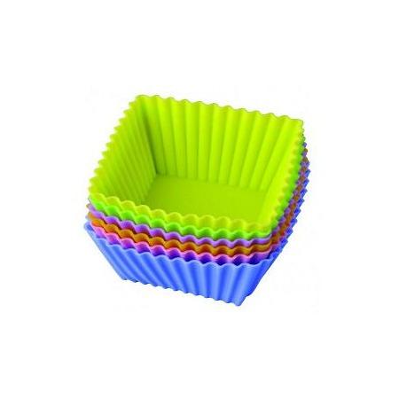Купить Набор форм для выпечки силиконовый Regent «Тарталетки-квадратные»