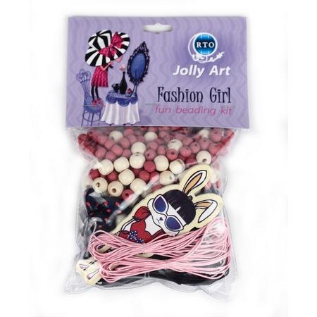 Купить Набор для создания украшений из бусин RTO «Fashion Girl 2»