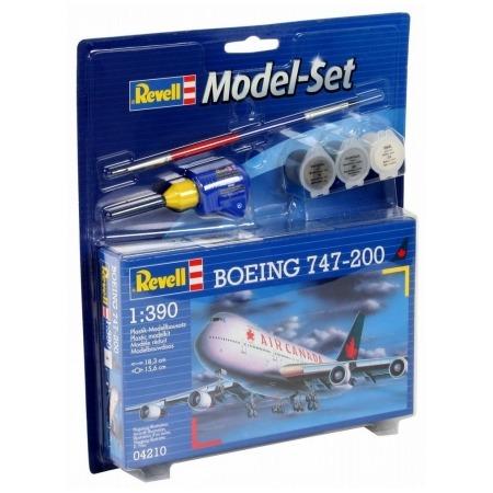 Купить Сборная модель пассажирского самолета Revell Boeing 747