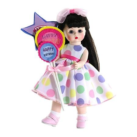 Купить Кукла Madame Alexander «Брюнетка с шариками»