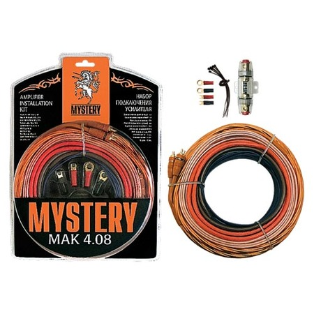 Купить Набор для подключения 4-х канального усилителя Mystery MAK 4.08