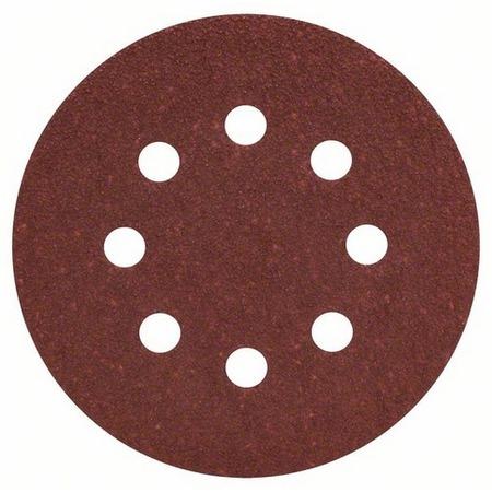 Купить Набор листов для эксцентриковой шлифмашины Bosch Best for Wood, 8 отверстий, 50 шт