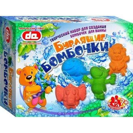 Купить Игрушка для купания ДЕТИ АРТ «Бурлящие бомбочки. Животные»