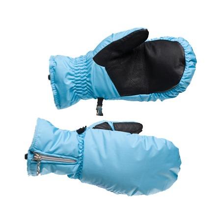 Купить Варежки GLANCE Crystal Mitten (2012-13). Цвет: голубой