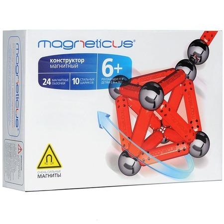 Купить Конструктор магнитный Magneticus МК-0034R