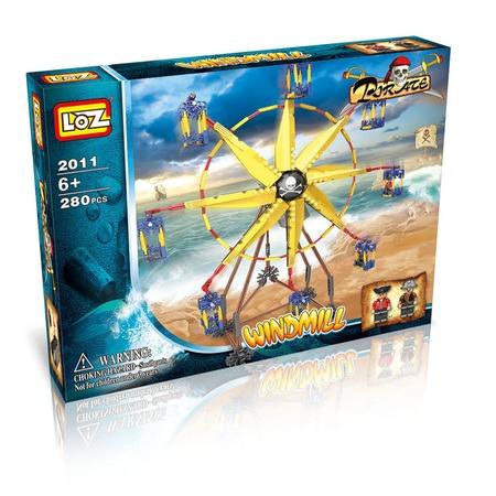 Купить Конструктор - игровой набор Loz «Ветряная мельница»