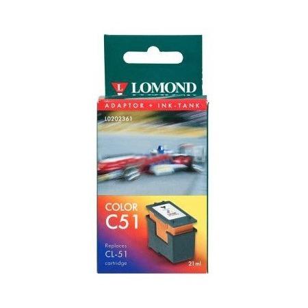 Купить Картридж струйный многоразовый Lomond L0202361