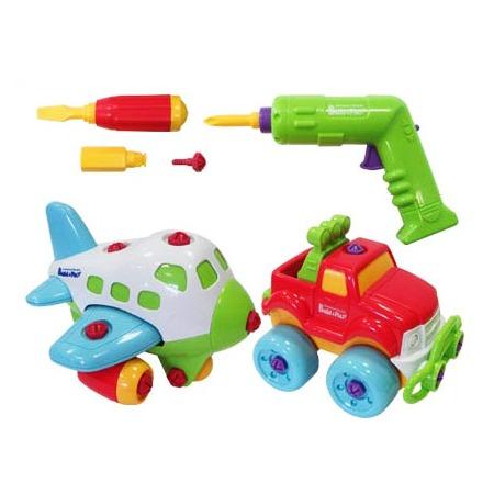 Купить Игровой набор Keenway «Самолет и джип»