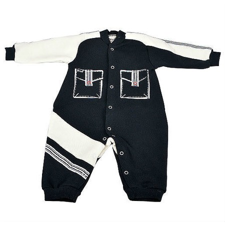 Купить Комбинезон для новорожденных без капюшона Ёмаё. Цвет: синий