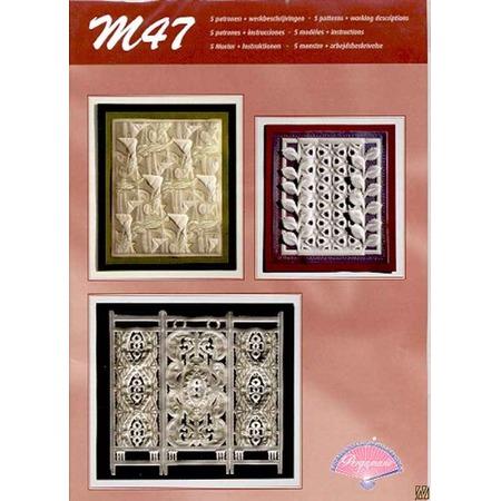 Купить Набор схем для парчмента Pergamano M47 В белом цвете