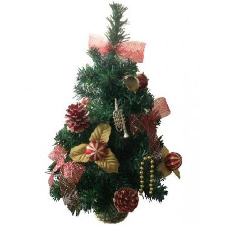 Купить Ель декоративная «Полосатые шары». Высота: 50 см