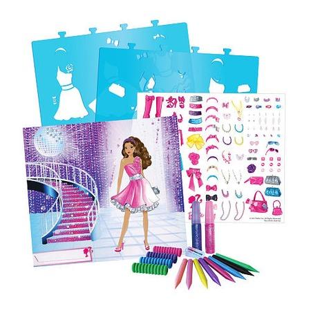 Купить Набор для детского творчества Fashion Angels «Barbie-сверкающая мечта»