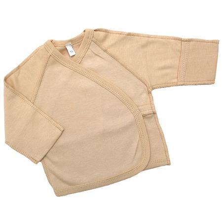 Купить Распашонка IDEA KIDS «Весёлые полосатики». Цвет: бежевый