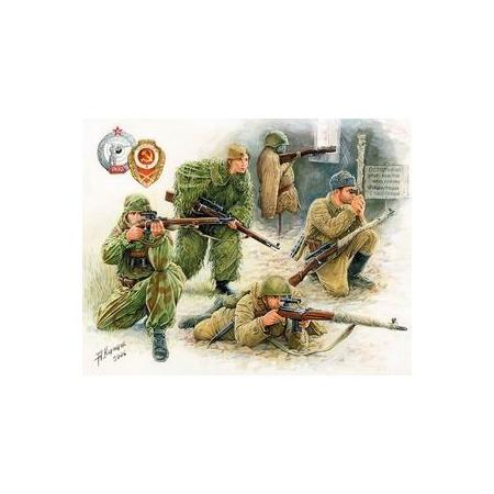 Купить Сборная модель Звезда Советские снайперы