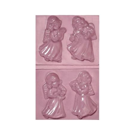 Купить Набор пластиковых формочек для литья Ars Hobby «Ангелы»