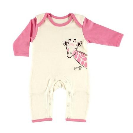 Купить Комбинезон Hudson Baby без следков «Лимпопо». Цвет: розовый