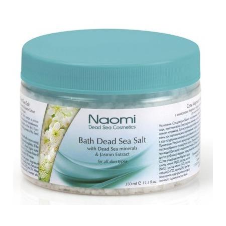 Купить Соль для ванны Naomi с минералами Мертвого моря и с экстрактом жасмина