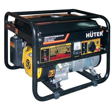 Купить Электрогенератор Huter DY3000L